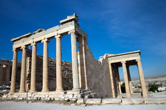Parthenon on the Acropolis Royalty Free Stock Photos