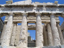 Parthenon, acropolis. Athens, greece Stock Images