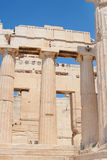 Parthenon of Acropolis in Athens Stock Photography