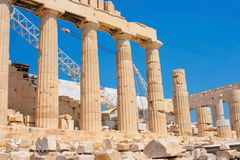 Parthenon of Acropolis in Athens Royalty Free Stock Image
