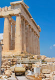 Parthenon of Acropolis in Athens Stock Photos
