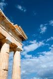 Parthenon on the Acropolis in Athens Royalty Free Stock Image