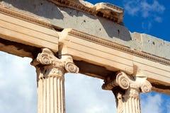 Parthenon on the Acropolis in Athens Royalty Free Stock Photography