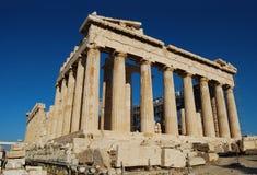 Parthenon in Acropolis Stock Photos