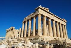 Parthenon in Acropolis Royalty Free Stock Photos