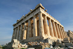 Parthenon on the Acropolis, Athens Greece Royalty Free Stock Photos