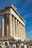 Parthenon on the Acropolis Royalty Free Stock Photo