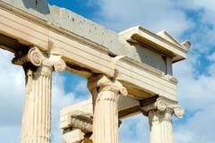 Parthenon on the Acropolis in Athens Stock Photo