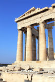 Parthenon on the Acropolis, Athens, Greece Royalty Free Stock Images