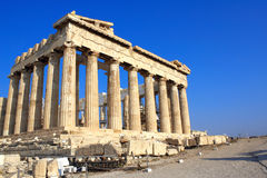 Parthenon on the Acropolis, Athens, Greece Royalty Free Stock Image