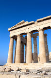 Parthenon on the Acropolis, Athens, Greece Stock Image