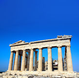 Parthenon on the Acropolis, Athens, Greece Stock Images