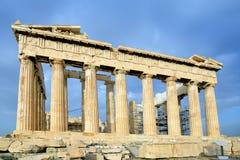 Parthenon on the Acropolis in Athens Royalty Free Stock Photo
