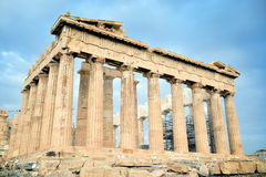 Parthenon on the Acropolis in Athens Royalty Free Stock Photography