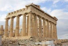 Parthenon on the Acropolis in Athens, Greece Stock Images