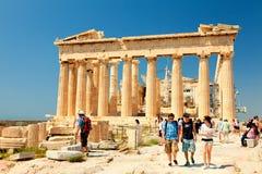 Parthenon at Acropolis, Athens Stock Photography