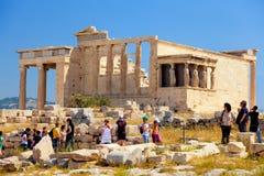 Parthenon at Acropolis, Athens Royalty Free Stock Images