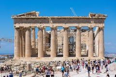 The Parthenon, Acropolis of Athens, Athens, Greece, Europe stock image