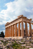 Parthenon at Acropolis in Athens, Greece Royalty Free Stock Photo