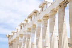 Parthenon in Athens stock image