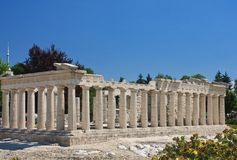 Parthenon on the Acropolis, Athens.Klagenfurt. Minimundus. Austria Stock Photos