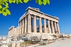 Parthenon in Acropolis, Athens Stock Photography
