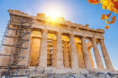 Parthenon in Acropolis, Athens Stock Photography