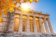 Parthenon in Acropolis, Athens Royalty Free Stock Images
