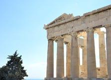 Parthenon, Acropolis of Athens Royalty Free Stock Image