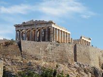 Parthenon, Acropolis de Atenas Foto de Stock Royalty Free