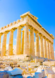 Parthenon of Acropolis Stock Images
