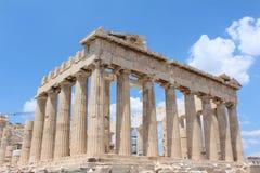 Parthenon, Akropolis, Athene Royalty-vrije Stock Foto