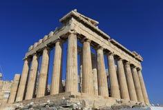 The Parthenon in the Akropolis, Athens Stock Photography