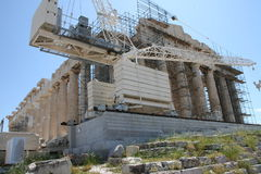 The Parthenon, Akropolis, Greece Royalty Free Stock Photos