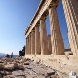 Parthenon ancient Greek temple Stock Photo