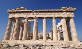 Parthenon ancient Greek temple Stock Photos