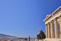 Parthenon, ancient Greek temple Stock Photo