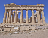 Parthenon, ancient Greek temple Stock Photography