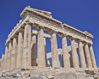Parthenon, ancient Greek temple Royalty Free Stock Image