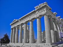 Parthenon ancient Greek temple Stock Image