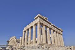 Parthenon ancient temple, Athens, Greece Royalty Free Stock Photo