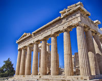 Parthenon ancient temple, Athens Greece Stock Photography