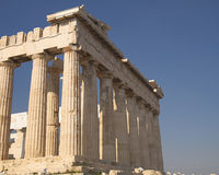 Parthenon ancient temple, Athens Greece Royalty Free Stock Photography