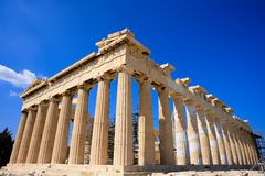 Parthenon antiguo Foto de archivo