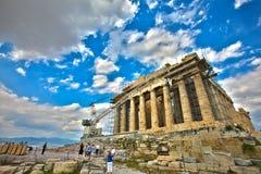 Parthenon, Atenas, Grecia Foto de archivo libre de regalías