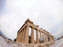 Parthenon Ateny, Grecja Fotografia Royalty Free