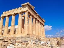 Parthenon in Athen Lizenzfreie Stockbilder