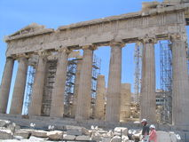 Parthenon, Athen Stockbild