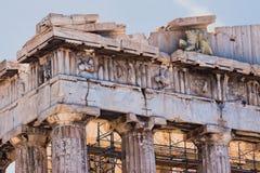 Parthenon Athen Griechenland Stockbilder