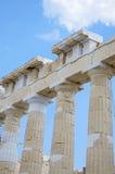 Parthenon Athene Stock Afbeeldingen